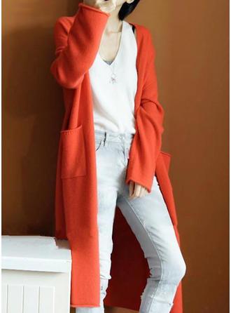 Coton Couleur unie Cardigan