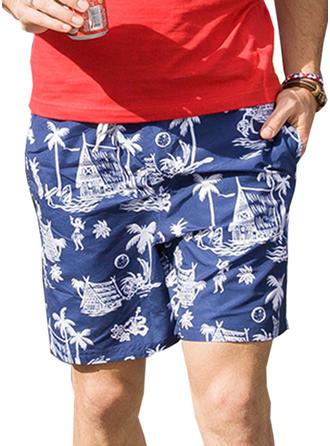 Pour des hommes Inmprimé Shorts de bain