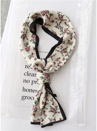 Floral Light Weight/fashion Silk Scarf