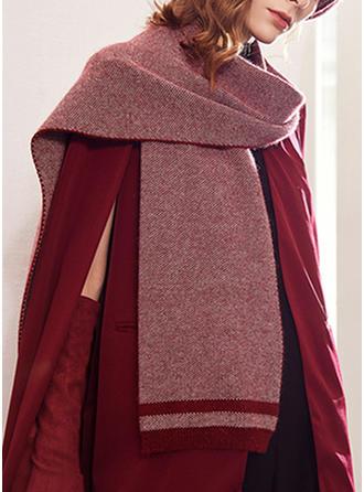 Solid Color efterspurgte/enkle Halstørklæde