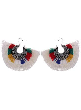 Beautiful Copper With Tassels Women's Fashion Earrings