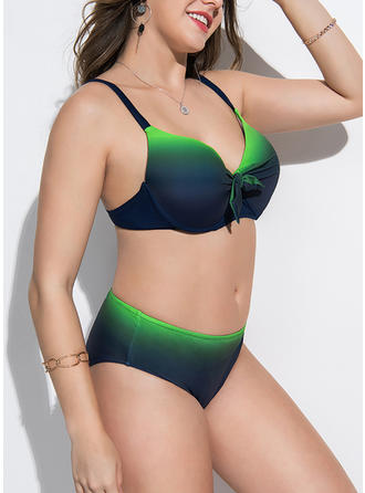 Neon Strap Elegant Bikinis Swimsuits