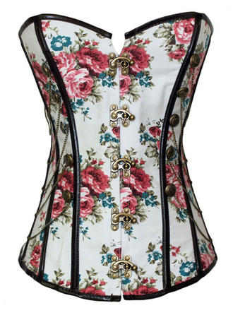 Polyester Print Corset