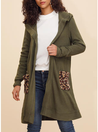 Cotton Blends Long Sleeves Plain Blend Coats Wide-Waisted Coats
