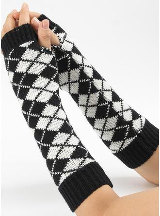 Geometrische drucken attraktiv/Kaltes Wetter Handschuhe