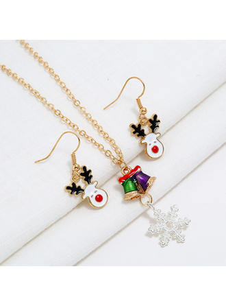 Eenhoorn Legering Juwelen van het Lichaam Kerst sieraden (Set van 2)