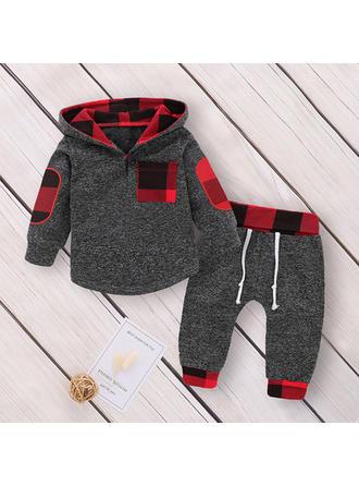 Bébé & Bambins Plaid Coton Pantalon,Sweat-Shirt Définir La Taille