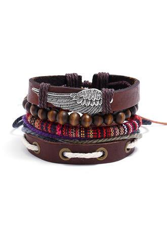 Unik Utsökt Snygg Legering Konstläder Armband Strand smycken