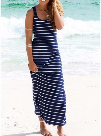 Rand U-ringning Färska Strandklänningar Badkläder