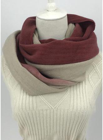 Tassel/Gradient farve efterspurgte/Koldt vejr Halstørklæde