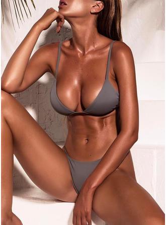 Taille Basse Lanière Chaîne À Bretelles Sexy Bikinis Maillots De Bain