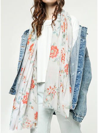 Floral Shawls/fashion/fresh Scarf