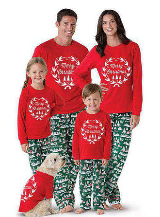 Print Matching Family Christmas Pajamas