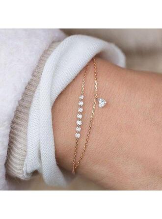 Alloy With Zircon Bracelets Beach Jewelry