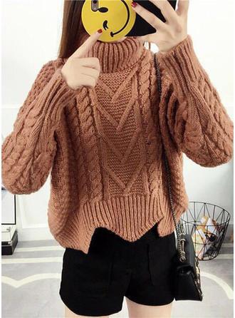 Chunky knit Turtleneck Sweaters