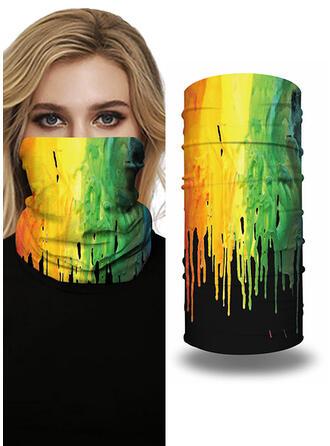Gezicht maskers/Print/Gezicht Bandana/Magische sjaal/Headwrap Balaclava Volledige dekking/Multi-functionele/Naadloos/Stofdicht/Tie-Dye bandana's