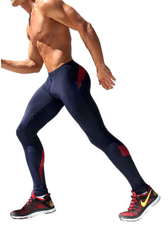 Men's Splice color Swimsuit