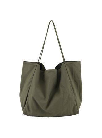 Effen kleur/Bohemian stijl/Reizen/Eenvoudig/Super handig Tote tassen/Strandtassen/Hobo Bags Riemzakken