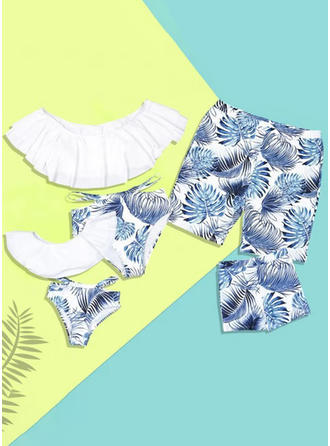 Print Family Matching Swimsuit