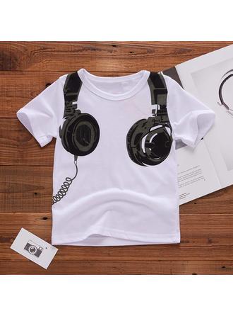 Bébé & Bambin Garçon Imprimé Bande Dessinée Coton T-shirt