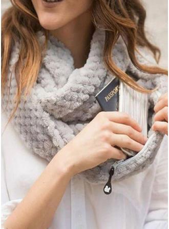 Solid Color Hals/efterspurgte/Koldt vejr Halstørklæde