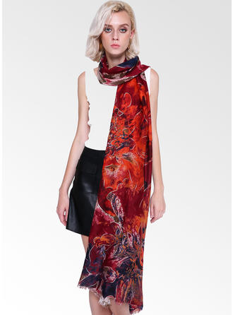 Floral Light Weight/fashion Scarf