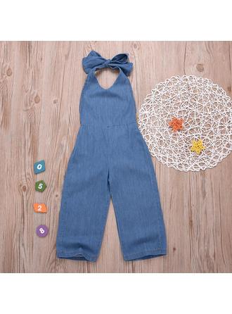 Bébé & Bambin Fille Solid Coton Jeans