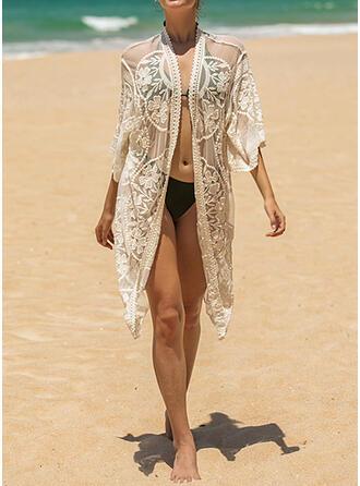 Épissage Couleur Sexy Boho Tenues de plage Maillots De Bain
