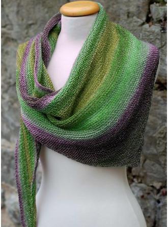 Gradient farve Hals/Koldt vejr Halstørklæde