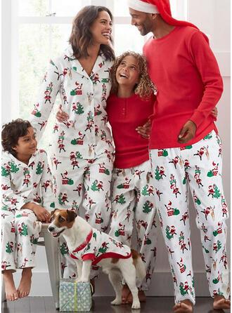 Babbo Renna Stampa Famiglia Partita Di Natale Pajamas