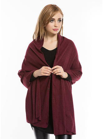 Solid Color Oversized Poncho