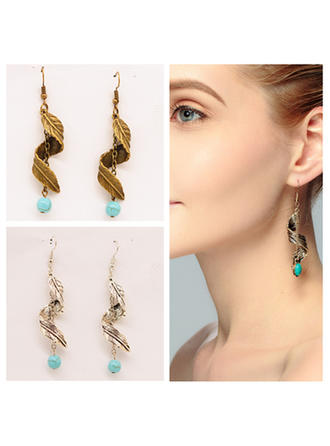Exotic Alloy Earrings