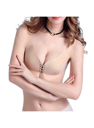 Plain Wireless Push Up Bra