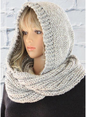 Solid Color/Crochet Head/fashion/Cold weather Scarf