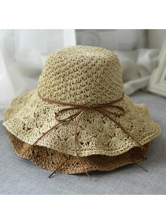 85774fb9a [US$ 9.99] Child's Lovely With Bowknot Beach/Sun Hats - Elleins