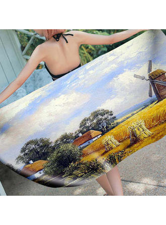 Country Style Oversized/attractive Beach Towel
