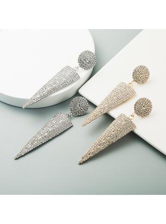 Charming Fancy Alloy Rhinestones Earrings