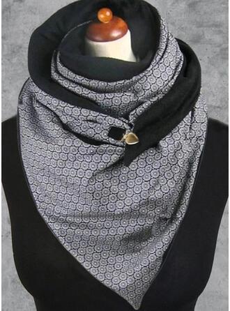 Floral/Retro /Vendimia/Geométrico Chal/moda/Cómodo Bufanda