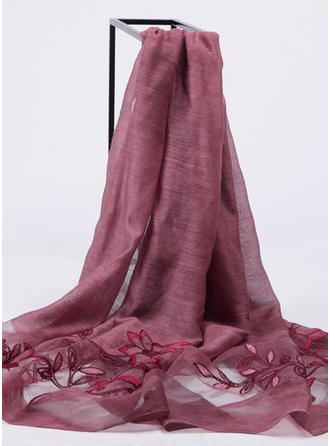 Solid Color Light Weight/Oversized/Shawls Silk Scarf
