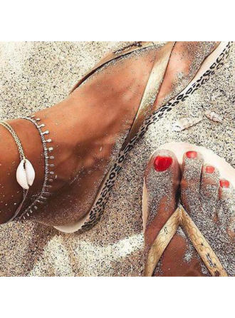 Simple Alloy With Shell Women's Beach Jewelry