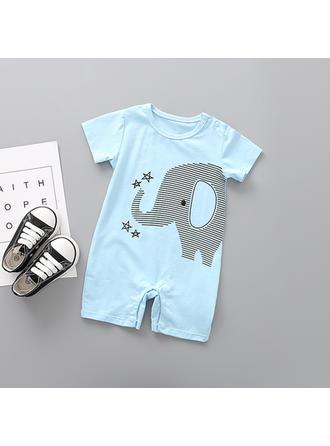 Bébé & Bambin Garçon L'Éléphant Coton Barboteuse