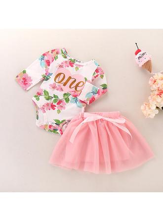 Bébé & Bambin Fille Imprimé floral Jupe,Body Définir La Taille