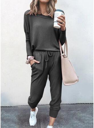 Solid Casual tee & 2-delt tøj sæt