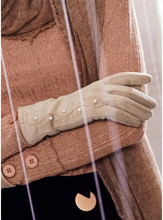 Solid färg enkel/Kallt väder Handskar