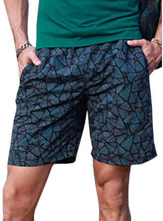Mænd Grid Board shorts