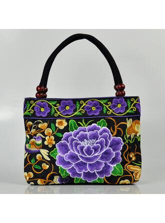 Uniek/Charme/Klassieke/Bohemian stijl/Gevlochten/Mom's Bag Tote tassen/Emmerzakken/Hobo Bags Riemzakken