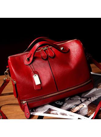 Elegancka damska torebka ze skóry ekologicznej z wieloma kieszeniami dla kobiet