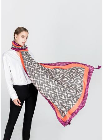 Retro /Wijnoogst lichtgewicht/te groot Sjaal