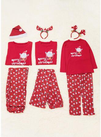 Julemanden Familie Matchende Jul Pyjamas