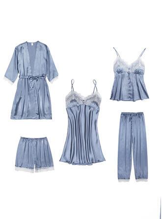 Poliéster camisón Conjunto de pijama